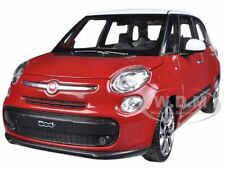 2013 FIAT 500L RED 1/24 DIECAST CAR MODEL BY WELLY 24038