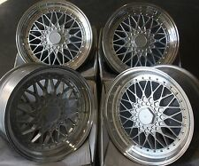 "17"" SILVER RS ALLOY WHEELS FITS BMW MINI R50 R52 R55 R56 R57 R58 R59"