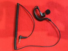 Ear Hook Type Listen Only Headset  UNIDEN HOME PATROL Radio Shack Scanner 3.5mm