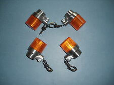 Honda CB 250 400 450 500 750 Four Dax E-gepr Schnapsglas Blinker Set flasher