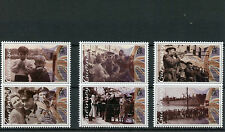 Guernsey 2015 MNH Liberation 70th Anniversary WWII 6v Set Second World War Two