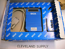 SICK OPTIC CLV212A1010 BARCODE SCANNER P/N 1 015 252 NEW CONDITION IN BOX