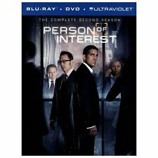 Person of Interest: The Complete Second Series (Blu-ray/DVD, 2013, 10-Disc Set,…