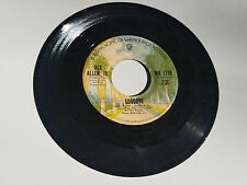 REX ALLEN JR 45 RPM RECORD THE SAME OLD WAY GOODBYE