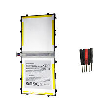 SP3496A8H 1S2P Battery For Samsung Google Nexus 10 Tablet GT-P8110 HA32ARB+Tools