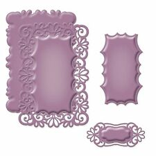 Spellbinders shapeabilities Victorian gamme Heirloom rectangle frame die