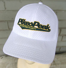 Pikes Peak Colorado Elevation White Twins Baseball Cap Hat Adjustable Tourist