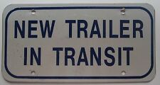 2005 NEW TRAILER IN TRANSIT BOOSTER License Plate NICE QUALITY