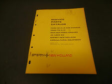 1974 New Holland Service Parts Catalog Ford 134 & 172 Gas & Deisel Engines 23pg