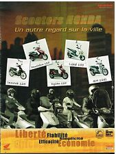 Publicité Advertising 2005 Les Scooters Honda