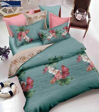 BUTTERFLY-3 Queen Size Bed Duvet/Doona/Quilt Cover Set New