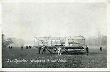 CARTE POSTALE /  AVIATION / LES SPORTS / AEROPLANE BIPLAN VOISIN