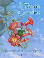 The Faerie Garden Coloring Book, A highly detailed adult coloring book