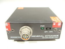 General Dynamics Military Digital Radio Transceiver USB Headset Audio Adapter!