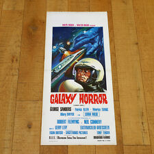 GALAXY HORROR Anno 2001 locandina poster The Body Stealers Sci Fi Space Sanders