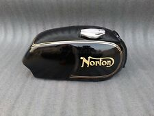 Norton Commando Roadster Fuel Tank- Black Painted with Cap
