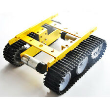 DIY Smart Tank Chassis Intelligent Aluminum Robot Car