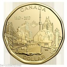 2017 CANADA150 $1 (LOONIE) CONNECTING A NATION Special Edition Dollar Coin
