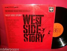 WEST SIDE STORY OST LP 1961 UK EX STEREO
