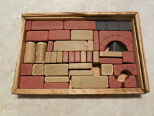 A. Richter's Anchor Box of Architectural Building Blocks C. 1880