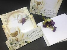 25 first communion invitation/invitaciones para primera comunión ,