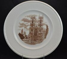 Wedgwood Transferware Plate Old London Views Set of 3 Edme St Clement