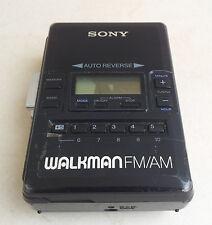 Sony WM-AF62 Walkman Radio Cassette Player Belt Clip Japan (only radio working)