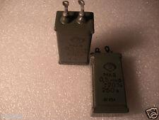 0.5uF 260V MKV VINTAGE USSR Capacitor Paper in Paraffin STANIOL plates JENSEN