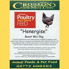 5kg HENERGISE Hi-Energy Poultry Boost Mix - Condition - Supplement - Hen - Food
