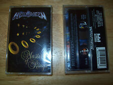 Helloween Master of the Rings ORIGINAL CASSETTE TAPE SEALED MINT FREE US SHIPPIN