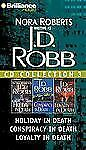 J.D. Robb CD Collection 3 Holiday, Conspiracy, Loyalty in Death 3 Audio Books