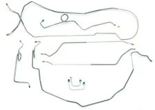 GM 1959-64 Power Brake Disc Brake Stainless Steel Line Kit Complete Front & Rear