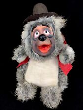 Vintage Walt Disney Characters Country Bear Jamboree Big Al Plush Rubber Face