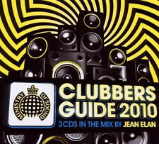 MINISTRY = clubbers guide 2010 = Guetta/Chase/Elan/Avicii..=3CD= groovesDELUXE!!