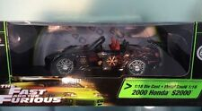 1:18 Fast and the Furious 2000 Honda S2000 black