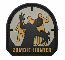 -- 3d velcro insignia badge Patch insignia/Zombie Hunter-fun divertido