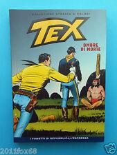 fumetti tex n. 10 collezione storica a colori ombre di morte fumetti repubblica