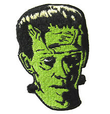 GREEN FRANKENSTEIN CULT CLASSIC MONSTER MOVIE HORROR FILM BIKER ROCKABILLY PATCH