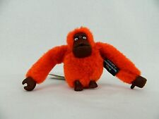 NWT KIPLING Blossom Orange Monkey Felix Key Chain Key Ring Bag Charm