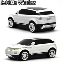 2.4G Wireless Cordless Land Rover Range Evoque 3D Car Style Usb Optical Mouse UK