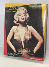 Vtg Marilyn Monroe Golden Spotlight Puzzle 550 Piece Sealed ~ WH