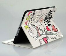Kolorfish Designer Romantic Print Leather Case Cover For iPAD Air --GREY