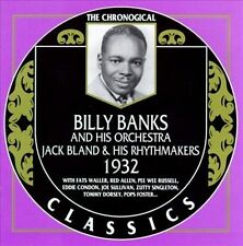 1932 * by Billy Banks/Jack Bland-CLASSICS CD NEW