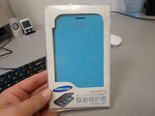 SAMSUNG  Flip Battery Back Cover Case for Samsung Galaxy Note II LT BLUE NEW