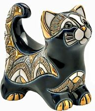 De Rosa Blue Cat Figurine F132 NEW in Gift Box - 26796