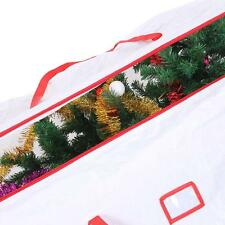 Ohuhu Heavy Duty Large Artificial Holiday Christmas Tree Storage Bag Clean Up