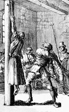 Framed Print - Public Flogging in 17th Century Germany (Medieval Torture Picture