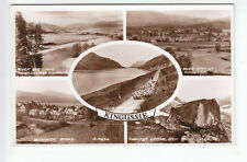 Kingussie Cairngorms 1947 Real Photograph Inverness-shire Valentines A9856