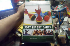 SPORTCRAFT OUTDOOR GAME SOFT TIP SKY DARTS KIDS/ADULT YARD GAME SPORT w/ BAG !