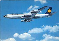 B71647 Lufthansa Boeing 707 Ontercontinetal Jet airplane avion